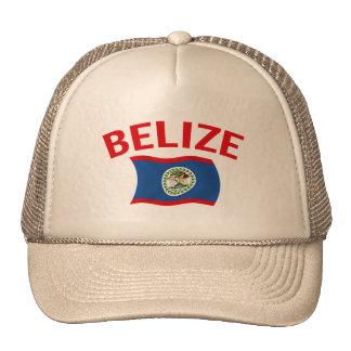 Belize Flag - Red Trucker Hat