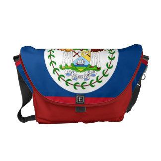 Belize Flag Rickshaw Messenger Bag