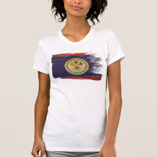 Belize Flag Tee Shirt