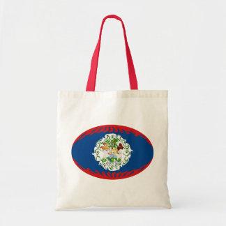 Belize Gnarly Flag Bag