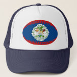 Belize Gnarly Flag Hat