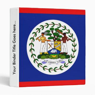 Belize High quality Flag Binder