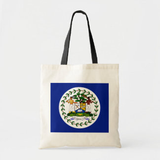 Belize High quality Flag Budget Tote Bag