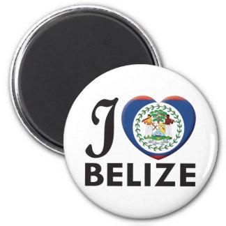 Belize Love 2 Inch Round Magnet