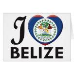 Belize Love Card
