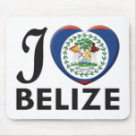 Belize Love Mouse Pads