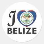 Belize Love Sticker