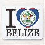 Belize Love v2 Mouse Pads