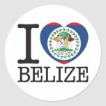 Belize Love v2 Sticker