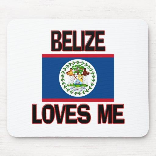 Belize Loves Me Mouse Mat