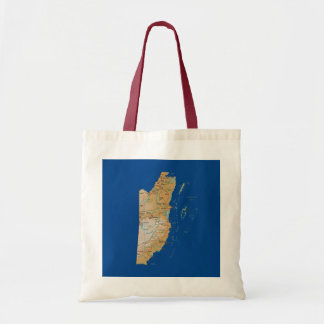 Belize Map Bag