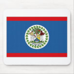 Belize National Flag Mousepad