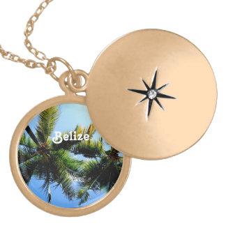 Belize Palm Trees Necklace