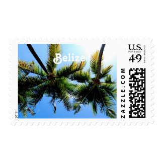 Belize Palm Trees Stamps