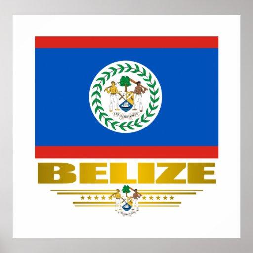 """Belize Pride"" Posters & Prints"
