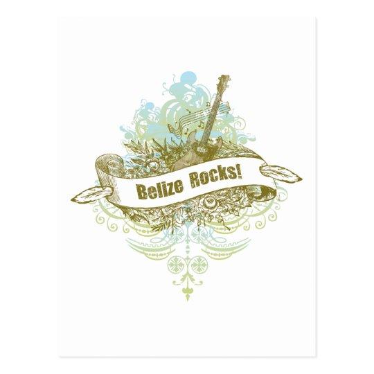 Belize Rocks Postcard