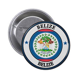 Belize  Round Emblem Pinback Button