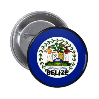 Belize Roundel quality Flag 2 Inch Round Button