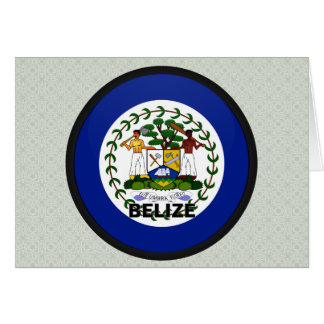 Belize Roundel quality Flag Greeting Card