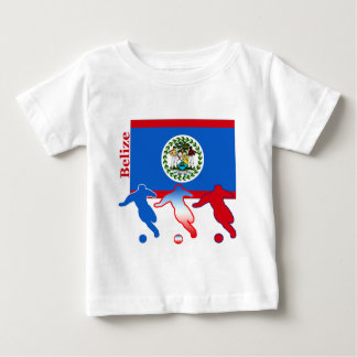 Belize Soccer Players Baby T-Shirt