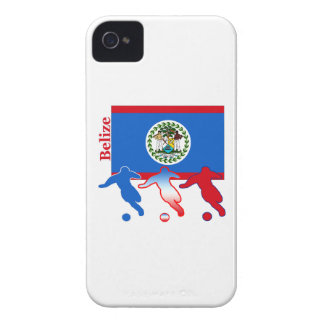 Belize Soccer Players Case-Mate iPhone 4 Case