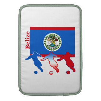 Belize Soccer Players Sleeve For MacBook Air