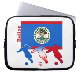 Belize Soccer Players Laptop Sleeve