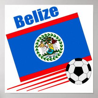 Belize Soccer Team Poster