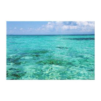 Belize, Stann Creek, Southwater Cay Canvas Print