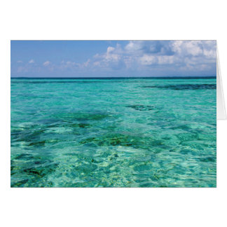 Belize, Stann Creek, Southwater Cay Greeting Card
