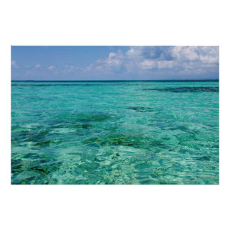 Belize, Stann Creek, Southwater Cay Poster