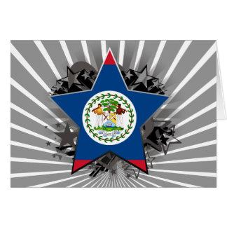 Belize Star Greeting Cards
