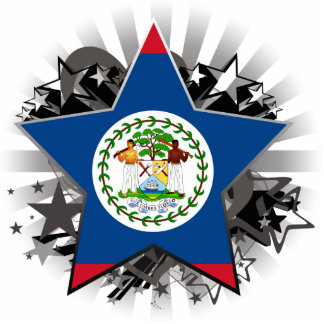 Belize Star Cutout