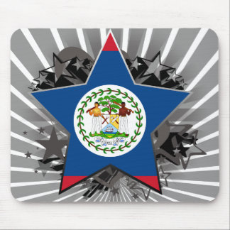 Belize Star Mouse Pad