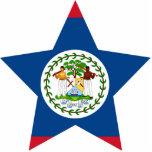 Belize Star Photo Sculpture