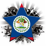 Belize Star Photo Sculptures