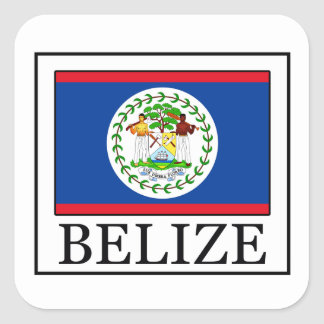 Belize sticker