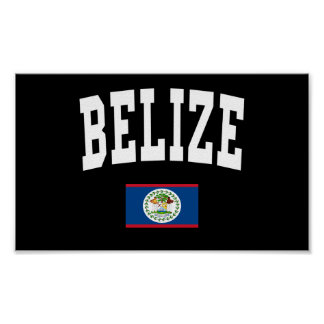 Belize Style Poster