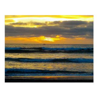 Belize Sunset Postcard