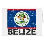 Belize Vintage Flag Cards