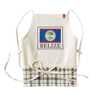 Belize Zazzle HEART Apron