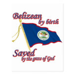 Belizean by birth saved by the grace of God Postcard