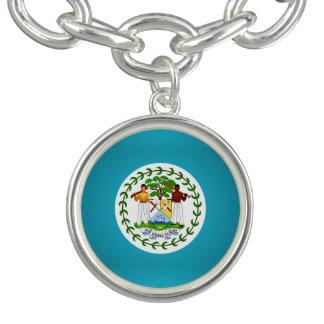 Belizean coat of arms bracelets