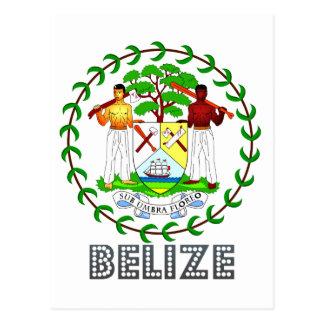 Belizean Emblem Post Cards