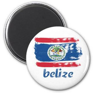 Belizean Flag designs Magnet
