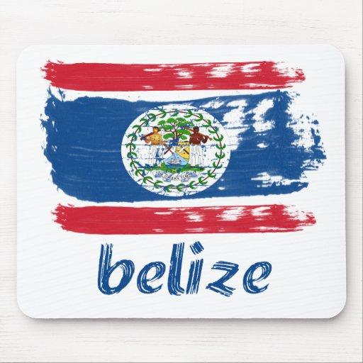 Belizean Flag designs Mousepad