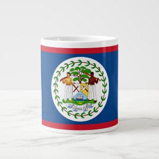 Belizean Flag Large Coffee Mug