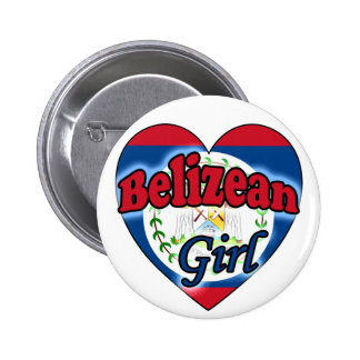 Belizean Girl Pins