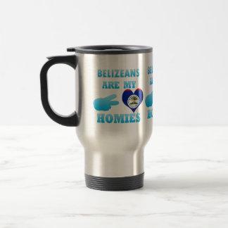 Belizeans are my Homies Coffee Mugs