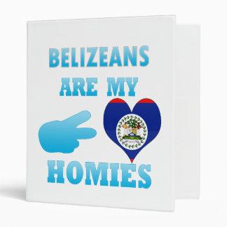Belizeans are my Homies Vinyl Binder